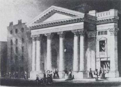 London at the Lyceum Theatre in 1870